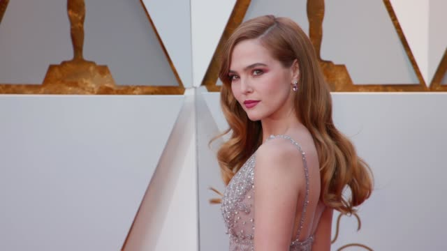 Zoey Deutch at the 90th Academy Awards Arrivals at Dolby Theatre on March 04 2018 in Hollywood California