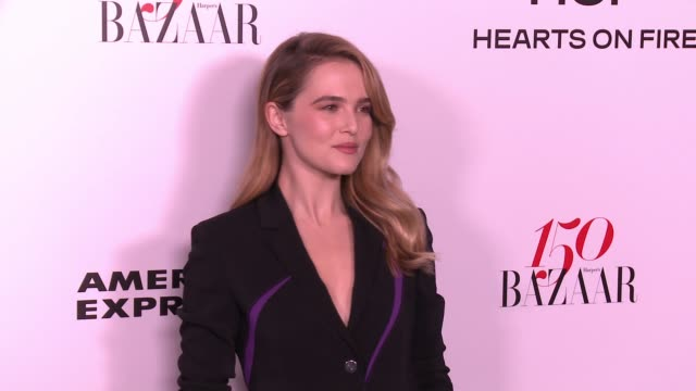 Zoey Deutch at the Harper's BAZAAR Celebrates 150 Most Fashionable Women at Sunset Tower on January 27 2017 in West Hollywood California