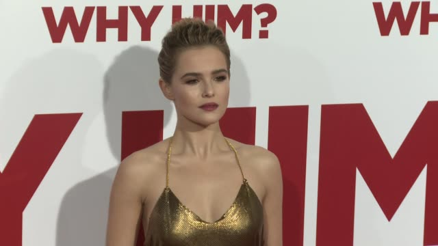 Zoey Deutch at the Why Him World Premiere at Regency Bruin Theater on December 17 2016 in Westwood California