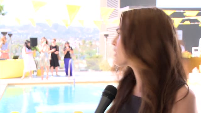 INTERVIEW Zoey Deutch on Kate Spade Saturday the brand how she spends her Saturdays an 'Saturday is…' at Kate Spade Saturday Summer Solstice Party on...