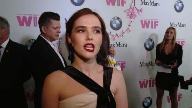 INTERVIEW Zoey Deutch on what it means to receive the Fresh Face Award from WIF and Max Mara when she realized she wanted to be an actress and why...