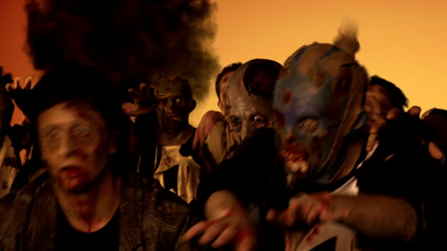 zombies attack - zombie stock videos & royalty-free footage