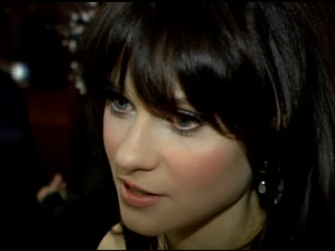 zooey deschanel at the 'failure to launch' new york premiere at chelsea west in new york, new york on march 8, 2006. - failure to launch stock videos & royalty-free footage