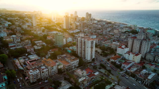 Zoom In of Havana Malecon district