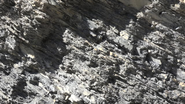 zoom in on rock strata - rock strata stock videos & royalty-free footage