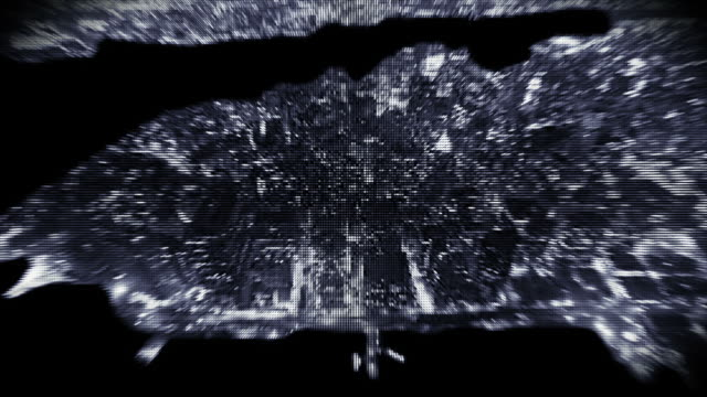 zoom into digital city - 電影照片拼集 個影片檔及 b 捲影像