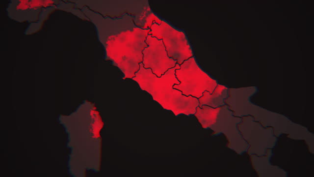 vídeos y material grabado en eventos de stock de alejarse de la propagación del virus covid-19 en italia - rome italy