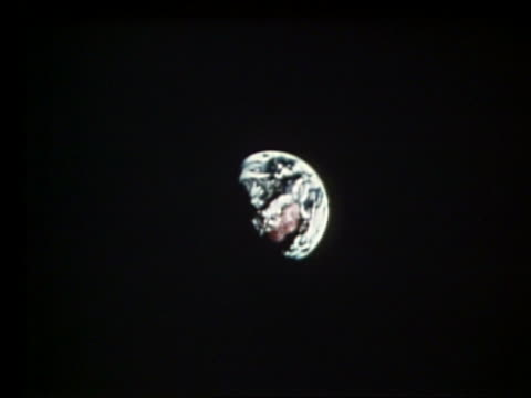 zoom out of earth from space - 2001 stock-videos und b-roll-filmmaterial