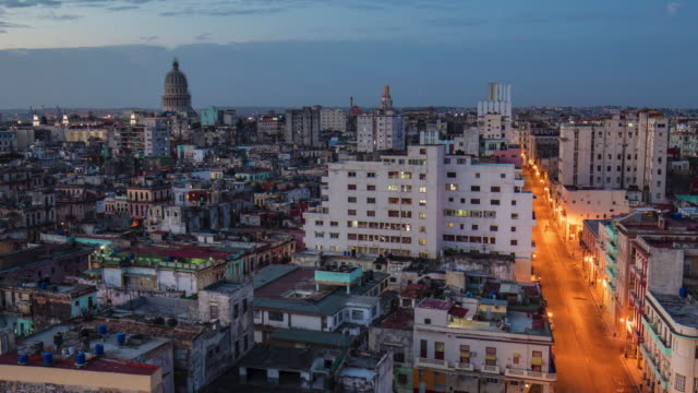 zoom out time lapse video in havana - cuba stock videos & royalty-free footage