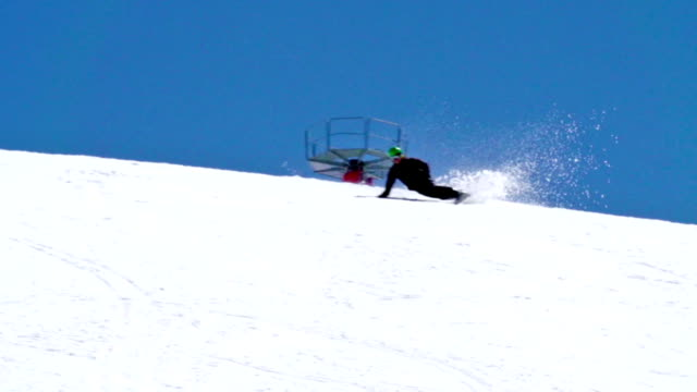 HD: Zoom, Snowboarder Extreme Carving