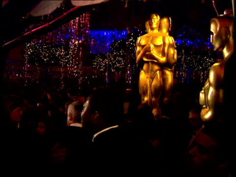 zoom-in of the entryway to swifty lazar's oscar party. - oscar party stock videos & royalty-free footage