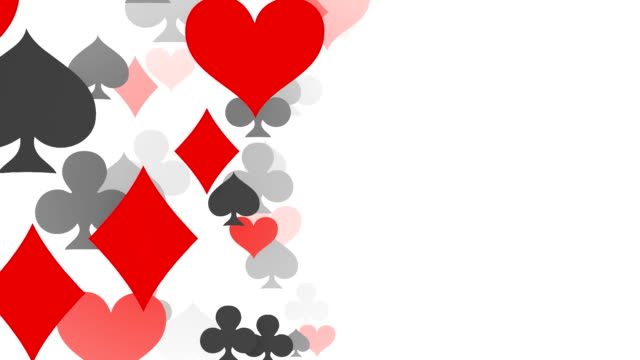 zooming by aces, diamonds, hearts, spades, poker, blackjack, gambling - blackjack stock videos and b-roll footage