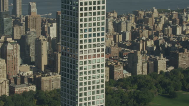 Zooming in shot of maintenance staff working at the 432 Park Avenue