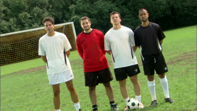 zooming shot of soccer players - see other clips from this shoot 1280 stock videos & royalty-free footage