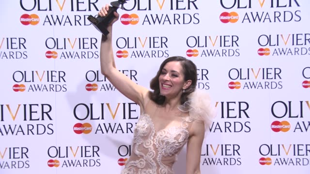 Zrinka Cvitešić at The Laurence Olivier Awards with MasterCard on April 13 2014 in London England