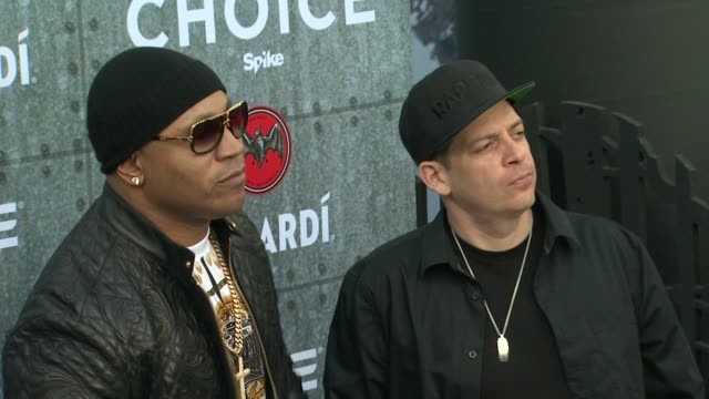 ztrip and ll cool j at spike tv's guys choice 2015 at sony pictures studios on june 06 2015 in culver city california - ll cool j stock videos and b-roll footage
