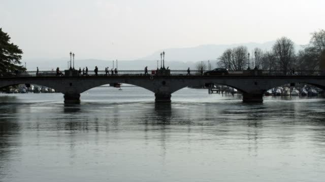 Zuerich bridge time lapse