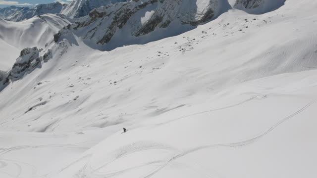 Zugspitze Drohne Ski