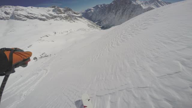 vídeos de stock, filmes e b-roll de zugspitze ski12 - montanha zugspitze