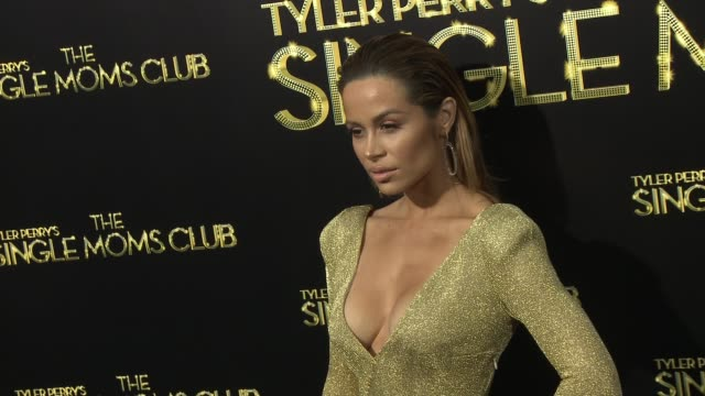 vídeos de stock e filmes b-roll de zulay henao at tyler perry's the single moms club los angeles premiere at arclight cinemas cinerama dome on march 10 2014 in hollywood california - cinerama dome hollywood
