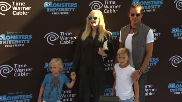 Zuma Nesta Rock Rossdale Gwen Stefani Gavin Rossdale Kingston Rossdale at Monsters University World Premiere on 6/17/13 in Los Angeles CA