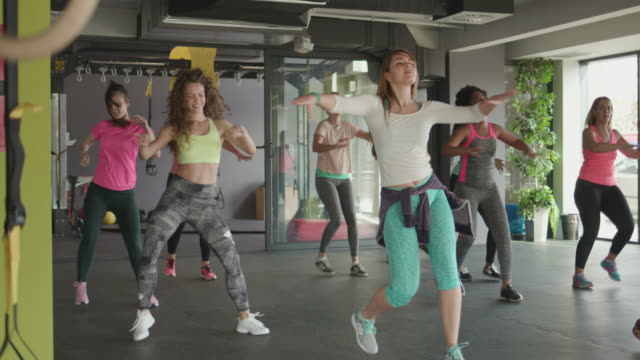 zumba - instructor stock videos & royalty-free footage