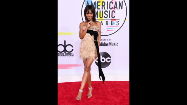 Zuri Hall attends the 2018 American Music Awards at Microsoft Theater on October 09 2018 in Los Angeles California