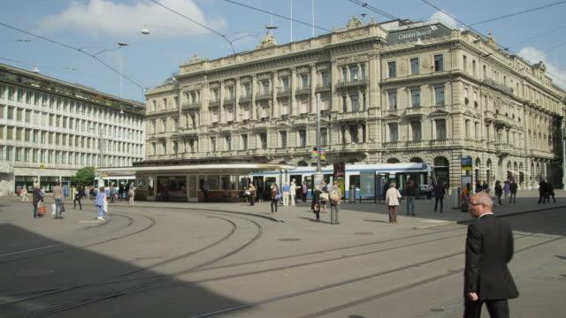 Zurich historic city center, Paradeplatz