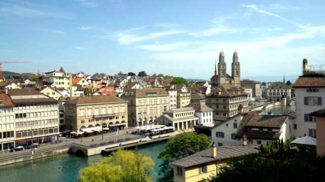 Zurich Skyline with Grossmünster